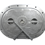 Oval watertight marine hatches - boat hatches - evergreenhatchworks - Portland OR
