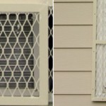 Steel Air Conditioning Security Screens - Evergreen Machine - Portland OR