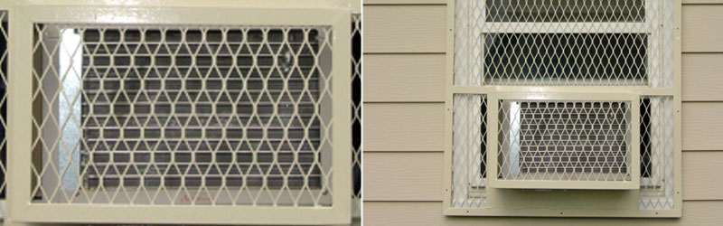 Air Conditioner Security Screens