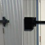 Steel Cross Bar Door Locks - Evergreen Machine - Portland OR