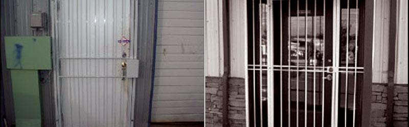 Steel Security Screen Door