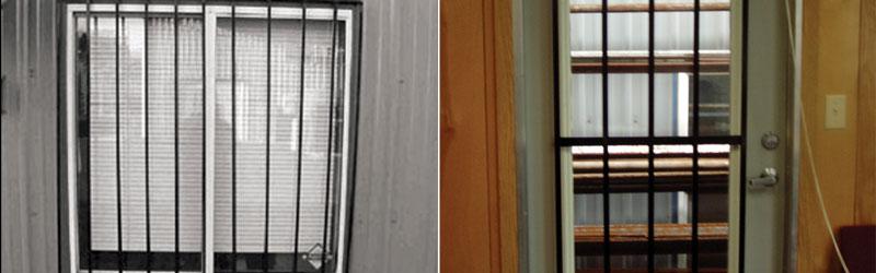 Vertical Security Bars Window And Door Security