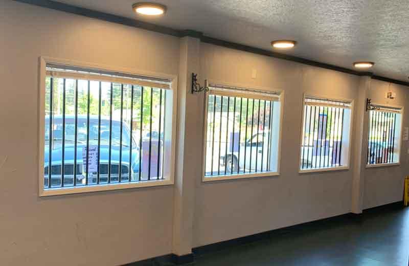 Vertical Steel Bars for window security