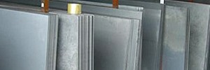 Galvanized Steel Plate Stock - Galvanizing - Evergreen machine Works - Portland Oregon