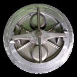Round Hatch Bottom Side - Evergreen Hatchworks -Portland OR